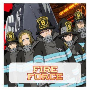 Fire Force Mousepads