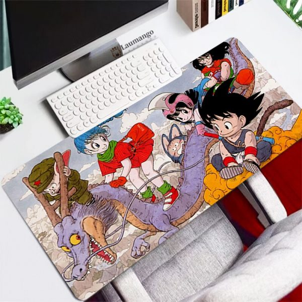 Dragon Mouse Pad Large XL Gamer Ball Gaming Accessories Mousepad Keyboard Laptop Computer Anime Super DBZ - Anime Mousepads