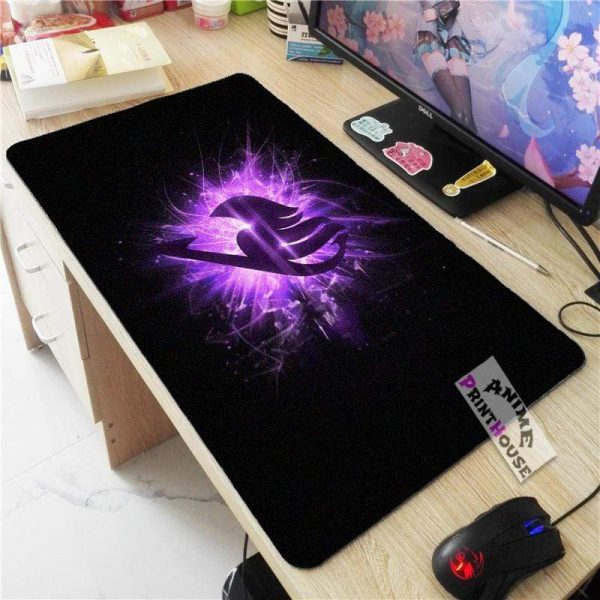 Fairy Tail Logo Mouse Pad, Oversize Anime Mouse Pad APH0705 70x30CM / As Shown Official Anime Mouse Pads Merch