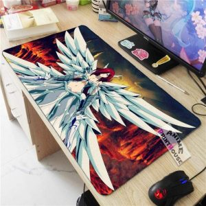 Fairy Tail Mouse Pad Erza Scarlet Heaven's Wheel Armor APH0705 70x30CM / As Shown Official Anime Mouse Pads Merch