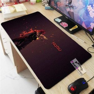 Fairy Tail Mouse Pad, Natsu Dragneel APH0705 70x30CM / As Shown Official Anime Mouse Pads Merch