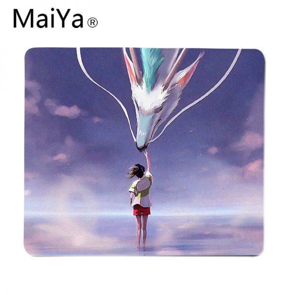 Maiya Top Quality Studio Ghibli Spirited Away gamer play mats Mousepad Top Selling Wholesale Gaming Pad 3 - Anime Mousepads