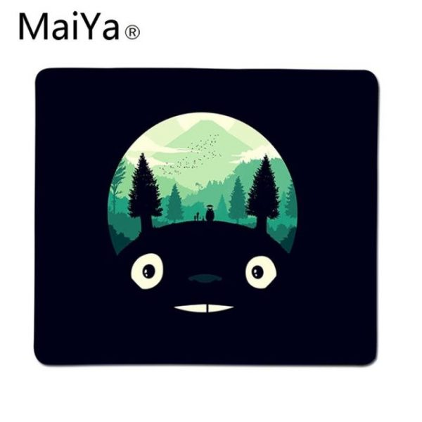 Maiya Top Quality Studio Ghibli Totoro gamer play mats Mousepad Top Selling Wholesale Gaming Pad mouse 3.jpg 640x640 3 - Anime Mousepads