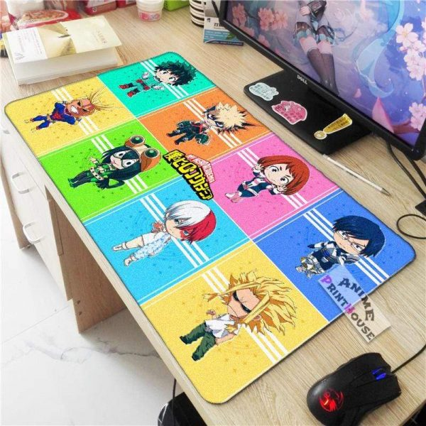 My Hero Academia Mouse Pad Chibi Mode APH0705 70x30CM / As Shown Official Anime Mouse Pads Merch