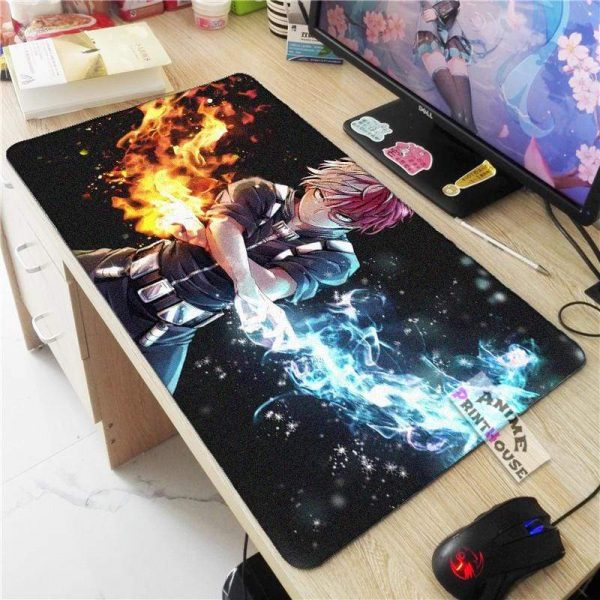 My Hero Academia Mouse Pad, Over Sized Anime Mouse Pad APH0705 70x30CM / As Shown Official Anime Mouse Pads Merch
