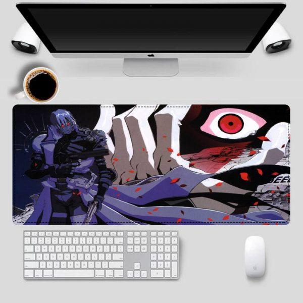 2020 Trigun Mouse Pad Gaming MousePad Large Big Mouse Mat Desktop Mat Computer Mouse pad For 1 - Anime Mousepads