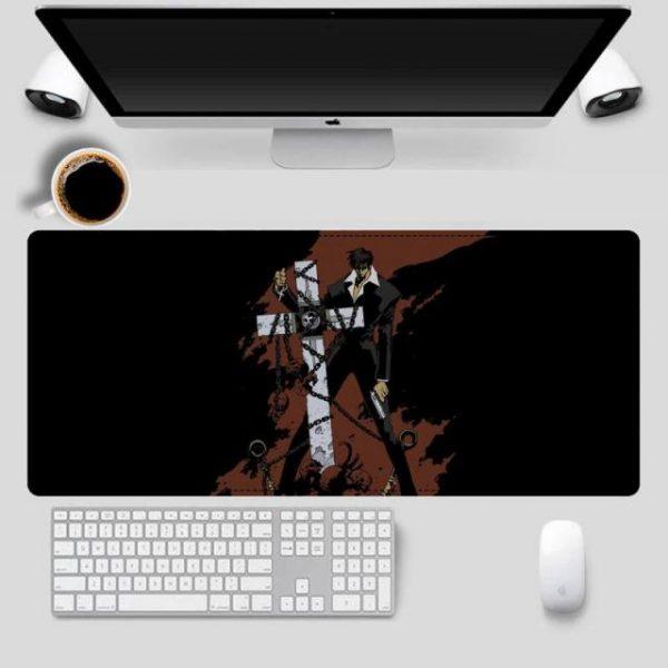 2020 Trigun Mouse Pad Gaming MousePad Large Big Mouse Mat Desktop Mat Computer Mouse pad For 1.jpg 640x640 1 - Anime Mousepads