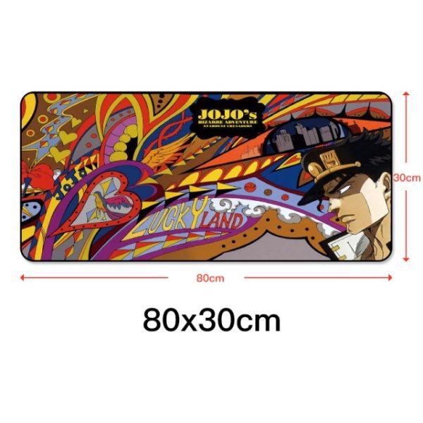 80x30cm Gaming Mousepad Locking Edge Anime Computer Rubber Mouse Pad for JOJO Bizarre Adventure Large Cartoon 7.jpg 640x640 7 - Anime Mousepads