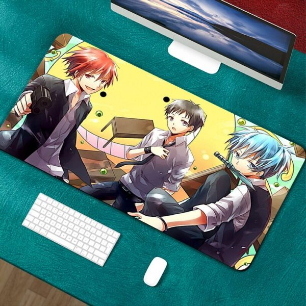 90x40cm XXL Assassination Classroom Mousepad Gamer Gaming Computer Accessories Keyboard Laptop Padmouse Desk Mat Mouse Pad - Anime Mousepads
