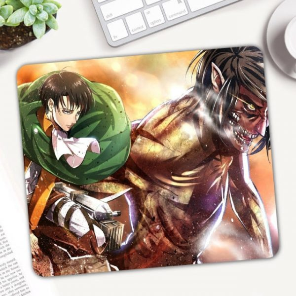 Anime Attack on Titan Mouse Pad Gamer Mice for Laptop PC Universal Comfortable Anti slip Mause 3.jpg 640x640 3 - Anime Mousepads