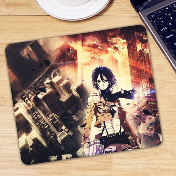 Anime Attack on Titan Mouse Pad Gamer Mice for Laptop PC Universal Comfortable Anti slip Mause 4.jpg 640x640 4 - Anime Mousepads