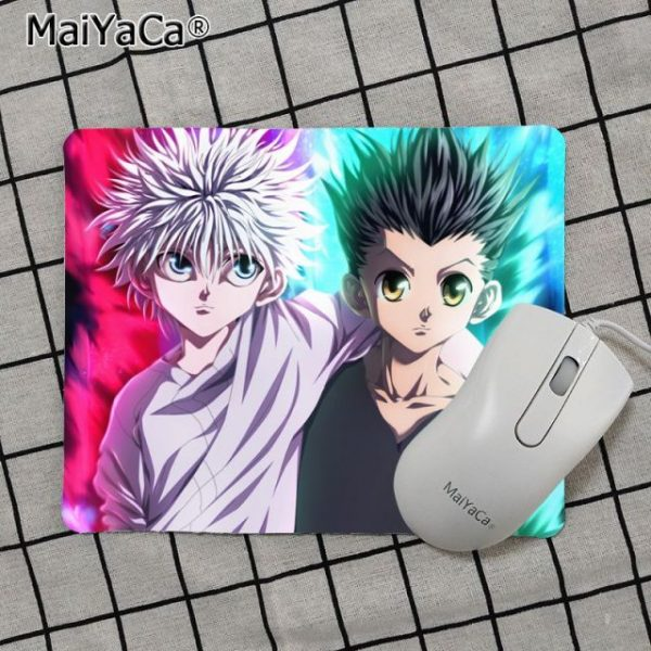 Babaite Top Quality Hunter x Hunter Gamer Speed Mice Retail Small Rubber Mousepad Top Selling Wholesale 6.jpg 640x640 6 - Anime Mousepads