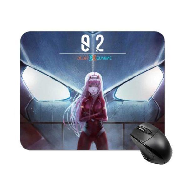 Darling In The Franxx Mouse Pad Cheap Rubber Mousepad Photo Soft Anti Slip Desktop Mouse Mat 17.jpg 640x640 17 - Anime Mousepads