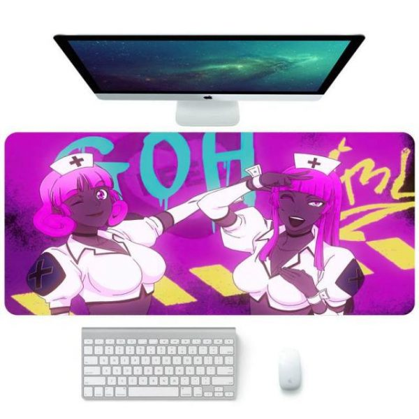 God of high school Gamer Speed Mice Retail Small Rubber Mousepad Colorful Gaming Mouse Pad Computer 9.jpg 640x640 9 - Anime Mousepads