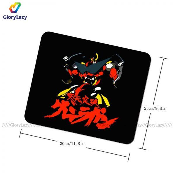 Gurren Lagann Mouse Pad High Quality Rubber Mousepad Print Soft Armrest Table Mouse Mat 1 - Anime Mousepads