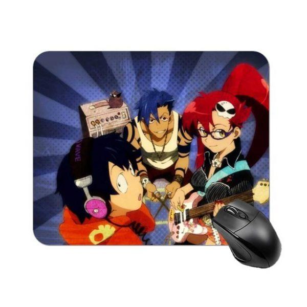 Gurren Lagann Mouse Pad High Quality Rubber Mousepad Print Soft Armrest Table Mouse Mat 6.jpg 640x640 6 - Anime Mousepads