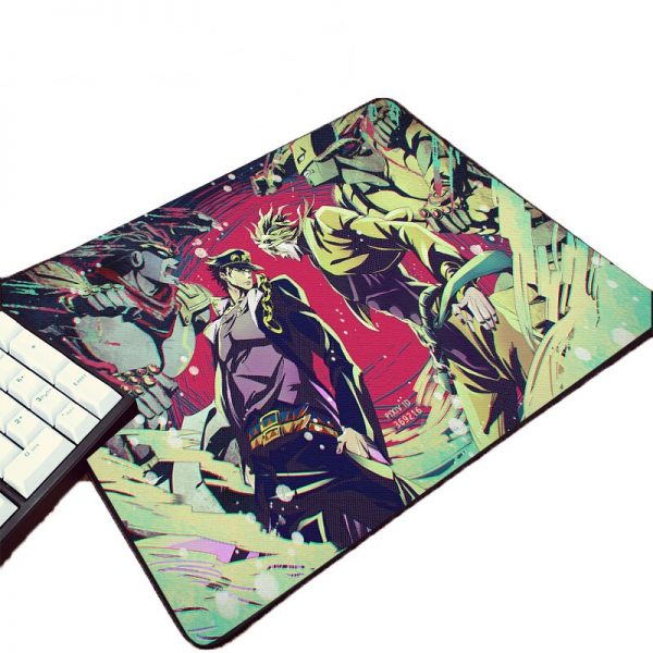 Hot Animation Product Pc Computer Gaming Mousepad JoJo s Bizarre Adventure Pattern Printed Mouse Pad For - Anime Mousepads