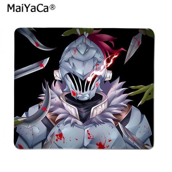 Japanese manga Goblin Slayer Gamer Speed Mice Retail Small Rubber Mousepad Smooth Writing Pad Desktops Mate 1 - Anime Mousepads