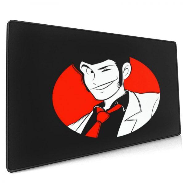 Lupin Mouse Pad Anti Slip Desk Mousepad Picture Cheap Rubber Huge Desk Pad - Anime Mousepads