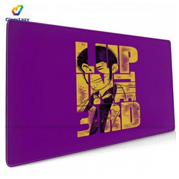 Lupin Mouse Pad Anti Slip Desk Mousepad Picture Cheap Rubber Huge Desk - Anime Mousepads