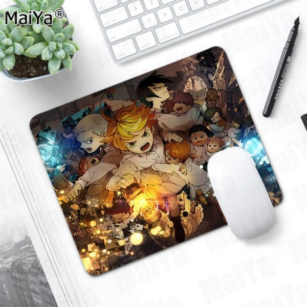MaiYa New game The Promised Neverland Comfort Mouse Mat Gaming Mousepad Smooth Writing Pad Desktops Mate 3 - Anime Mousepads