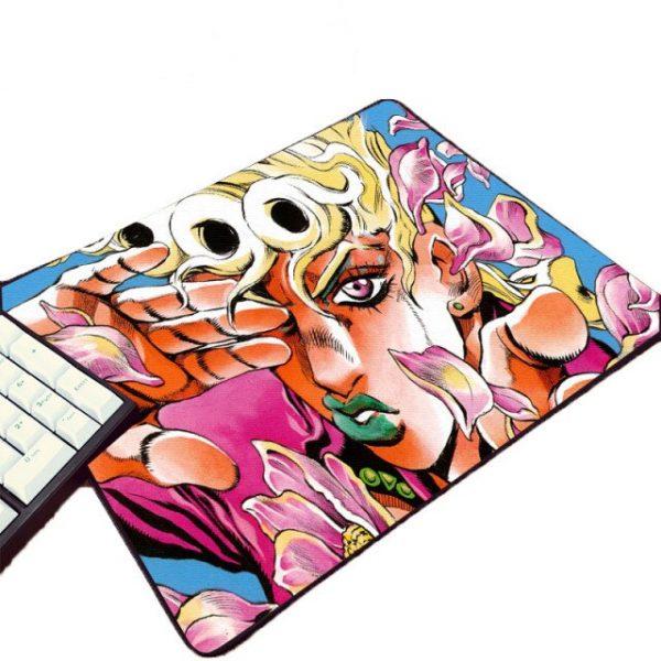 Mairuige Best Popular Beautiful Funny Anime Comic Art Printed mouse Pad JoJo s Bizarre Adventure Animation 3.jpg 640x640 3 - Anime Mousepads