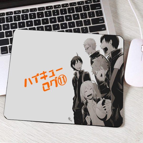 Mairuige Hadsome Cool Boys Haikyuu Anime Comic Popular Animation Products Mini Pc Mousepads Table Desktop Mouse 1 - Anime Mousepads