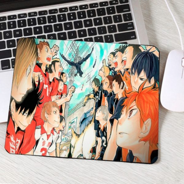 Mairuige Japanese Hot Popular Anime Haikyuu Pc Computer Mouspead Animation Products Small Size Table Mouse Pad 2.jpg 640x640 2 - Anime Mousepads
