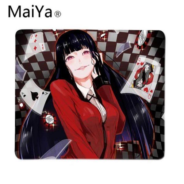 Maiya Top Quality Anime Kakegurui Beautiful Anime Mouse Mat Top Selling Wholesale Gaming Pad mouse 2.jpg 640x640 2 - Anime Mousepads