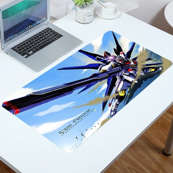 Mouse Carpet Gamer Mobile Suit Gundam Pads Mouse for Pc Accessories Gaming Big Mousepad Anime Mat - Anime Mousepads