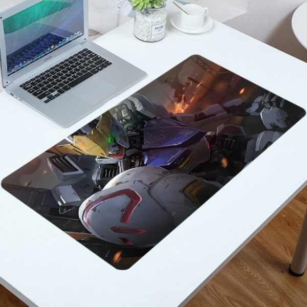 Mouse Carpet Gamer Mobile Suit Gundam Pads Mouse for Pc Accessories Gaming Big Mousepad Anime - Anime Mousepads