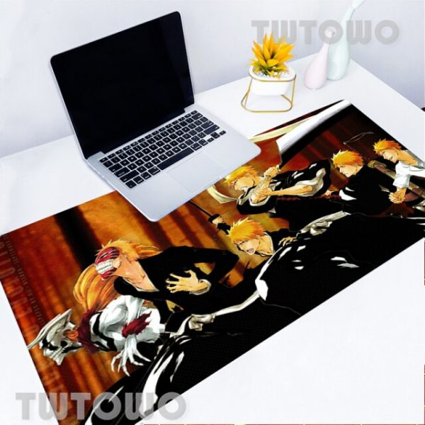 Mouse Pad Bleach 11 Kinds Of Large Size Mouse Pad Anti slip Game Mousepad Keyboard - Anime Mousepads