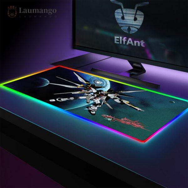Mousepad Speed Locking Edge Luminous RGB Mause Pad Otaku Big Desk Carpet Wired 40x90cm Backlight Mats 1.jpg 640x640 1 - Anime Mousepads