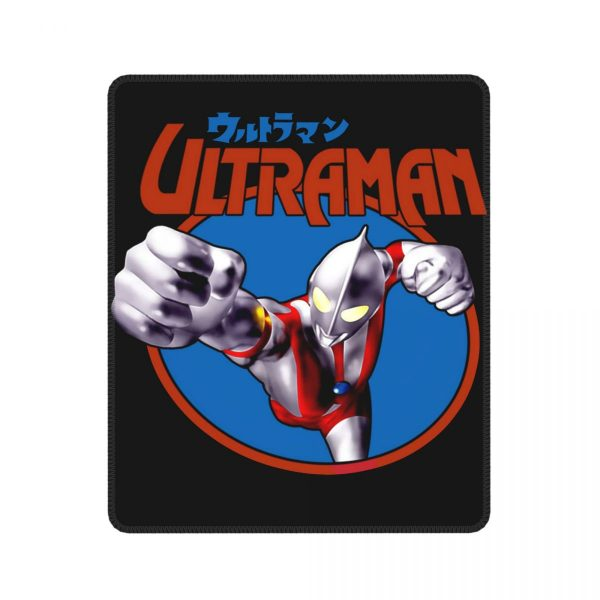Ultraman Japanese Anime Novelty Mouse Pad Rider Hero Robot Kaiju Lockedge MousePad Rubber Gamer Computer Laptop - Anime Mousepads