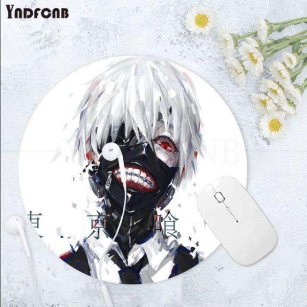 YNDFCNB 2021 New Tokyo Ghoul Natural Rubber Gaming mousepad Desk Mat Anti Slip Laptop PC - Anime Mousepads