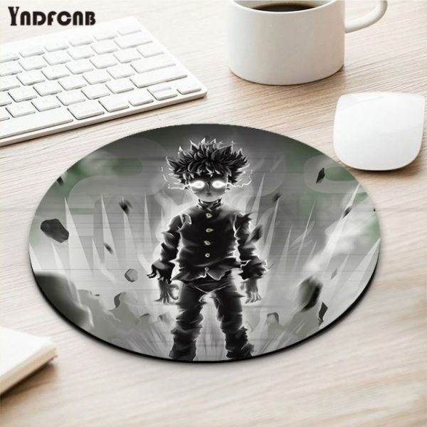 YNDFCNB Cool New Anime Mob Psycho 100 Natural Rubber Gaming mousepad Desk Mat gaming Mousepad - Anime Mousepads