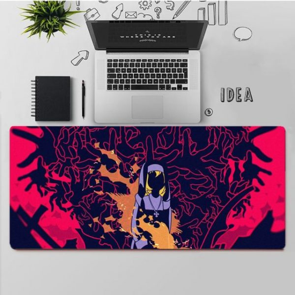 YNDFCNB Top Quality Fire Force Rubber Mouse Durable Desktop Mousepad Free Shipping Large Mouse Pad Keyboards 3.jpg 640x640 3 - Anime Mousepads