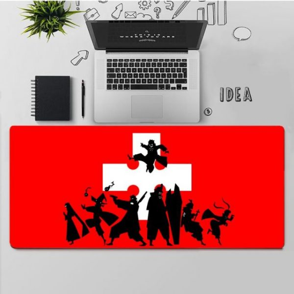 YNDFCNB Top Quality Fire Force Rubber Mouse Durable Desktop Mousepad Free Shipping Large Mouse Pad Keyboards 4.jpg 640x640 4 - Anime Mousepads