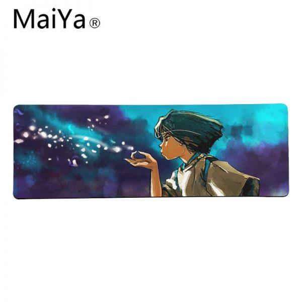 Ghibli Mousepads - Miyazaki Anime Natural Rubber Gaming Mousepad