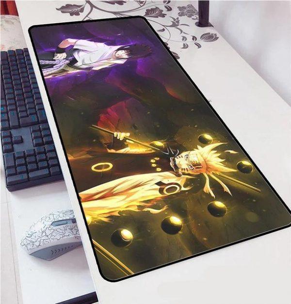 Naruto and Sasuke Sage of Six Paths mousepad 5 / Size 600x300x2mm Official Anime Mousepads Merch