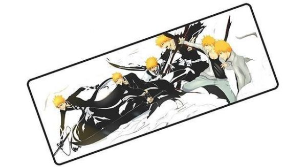 Ichigo Fighting Forms pad 1 / Size 600x300x2mm Official Anime Mousepads Merch