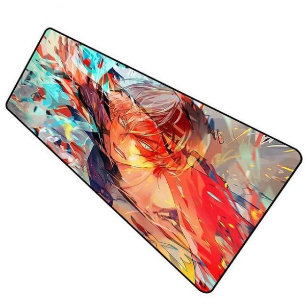 Flash Fire Todoroki pad 8 / Size 600x300x2mm Official Anime Mousepads Merch