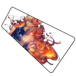 Firey Todoroki pad 9 / Size 600x300x2mm Official Anime Mousepads Merch