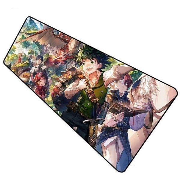 Class 1-A Dungeons and Dragons pad 10 / Size 600x300x2mm Official Anime Mousepads Merch
