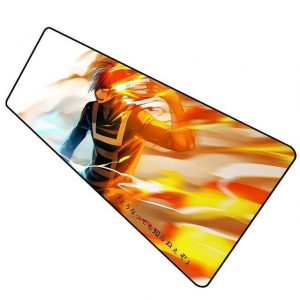 Todoroki Master of Fire pad 11 / Size 600x300x2mm Official Anime Mousepads Merch