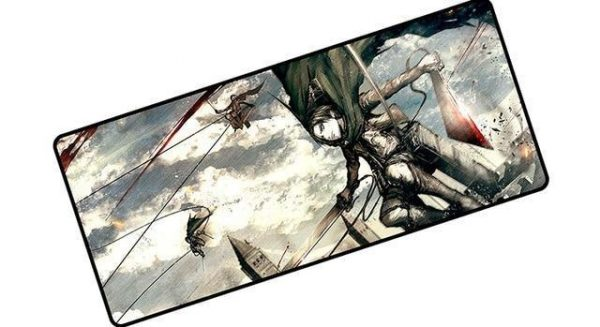 Survey Corps To Action pad 4 / Size 600x300x2mm Official Anime Mousepads Merch