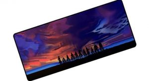 Gloomy Sunset pad 5 / Size 600x300x2mm Official Anime Mousepads Merch