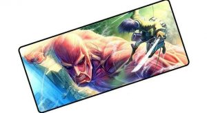 Attack on Colossal Titan pad 7 / Size 600x300x2mm Official Anime Mousepads Merch