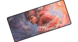 The Attack Titan pad 9 / Size 600x300x2mm Official Anime Mousepads Merch