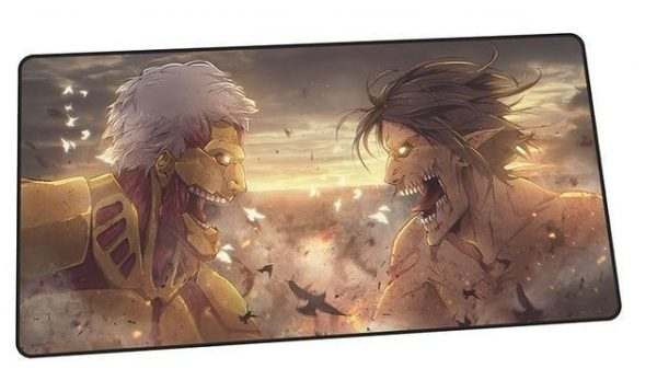 Titans: Armored v. Attack design 4 / Size 600x300x2mm Official Anime Mousepads Merch
